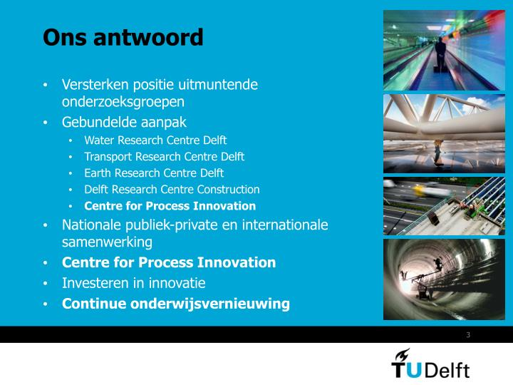 Ons antwoord