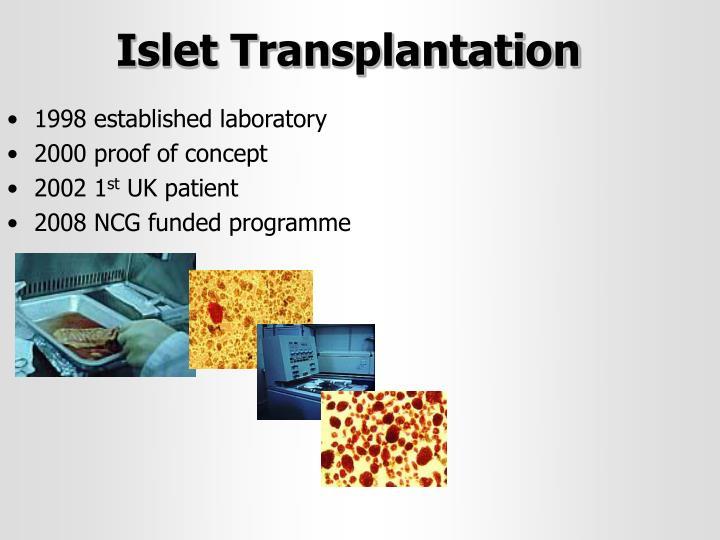 Islet Transplantation
