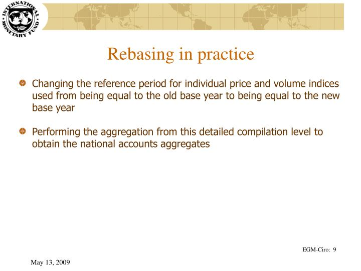 Rebasing in practice