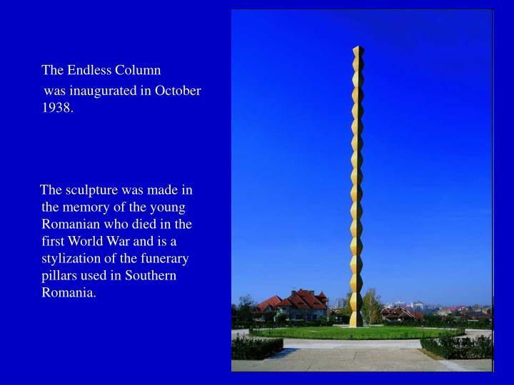 The Endless Column