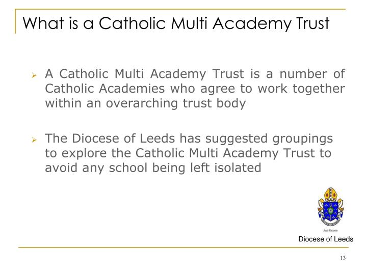 What is a Catholic Multi Academy Trust