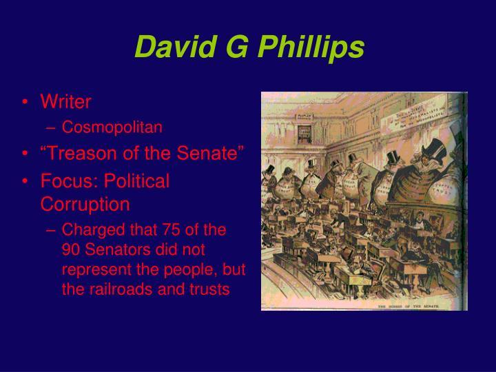David G Phillips