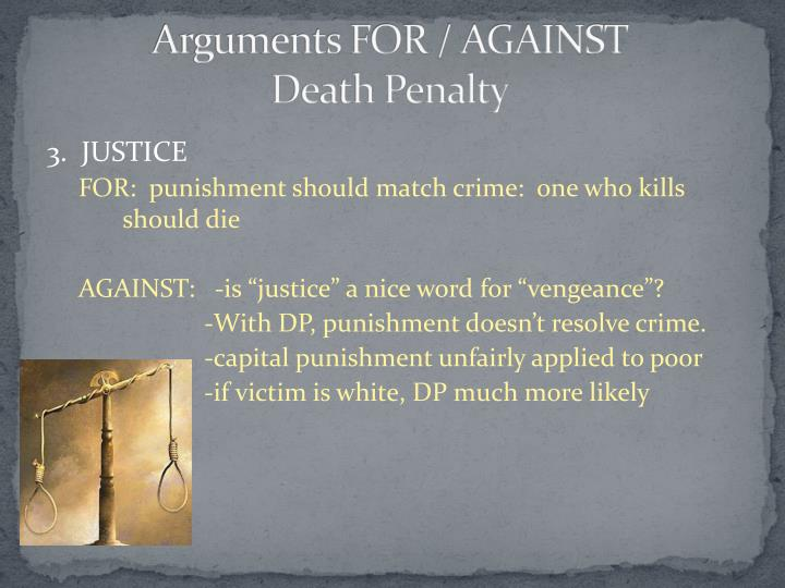 death penalty revenge or justice Revenge is the reason for capital punishment lex talionis refers to a code of justice in which the distributed and because the death penalty is just revenge.