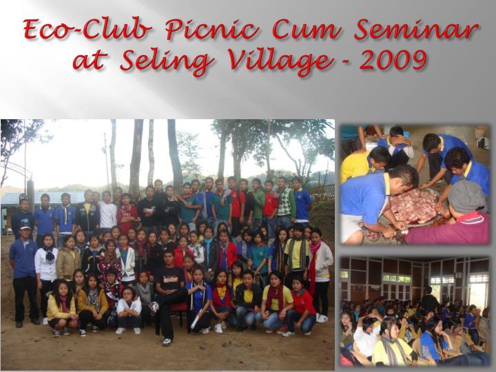 Eco-Club  Picnic  Cum  Seminar
