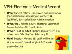 vph electronic medical record