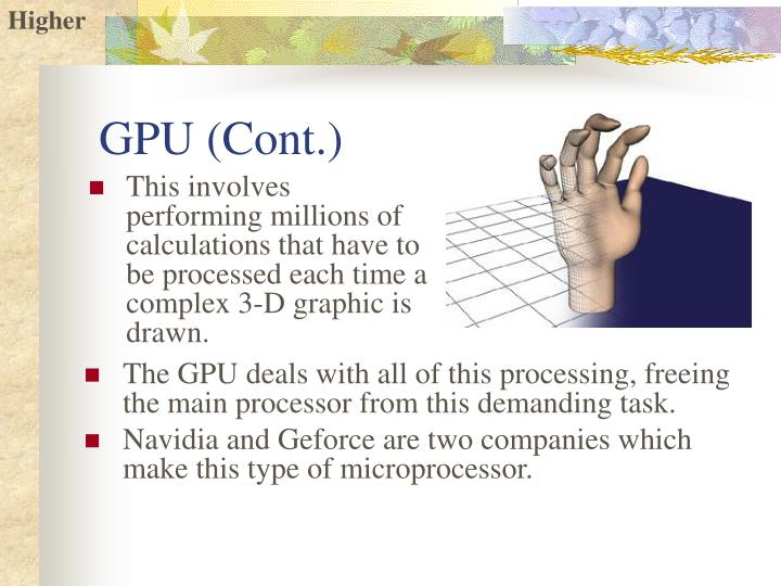 GPU (Cont.)