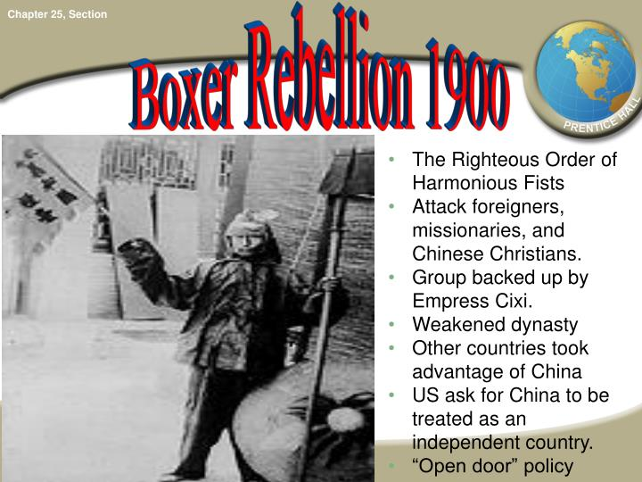 Boxer Rebellion 1900