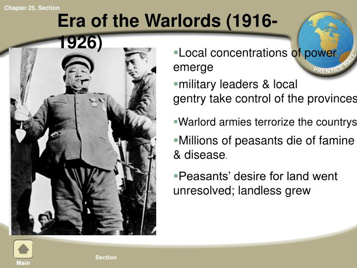 Era of the Warlords (1916-1926)