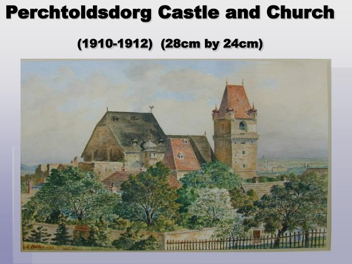 Perchtoldsdorg Castle and Church