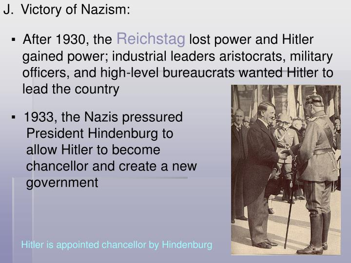 Victory of Nazism: