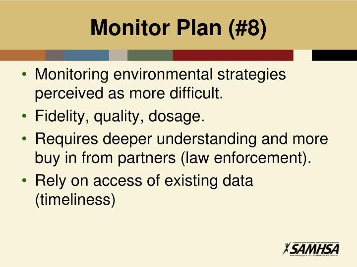Monitor Plan (#8)
