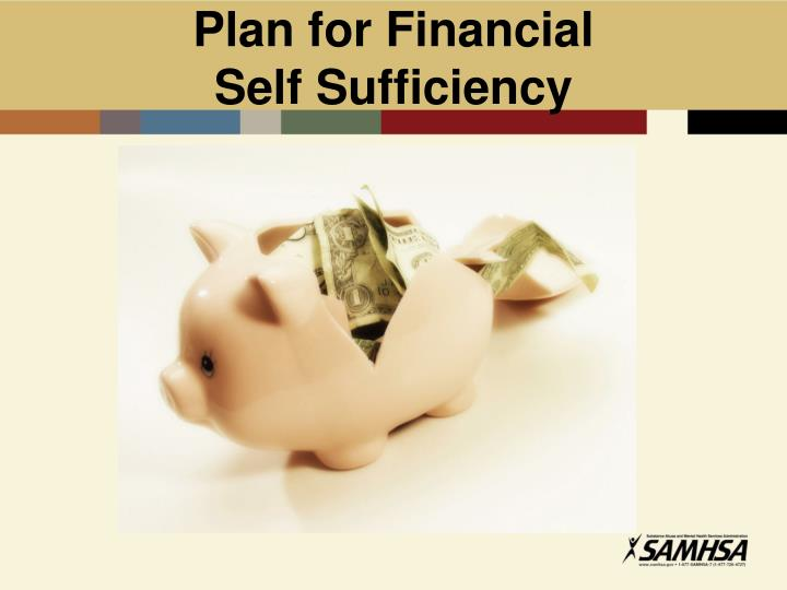 Plan for Financial