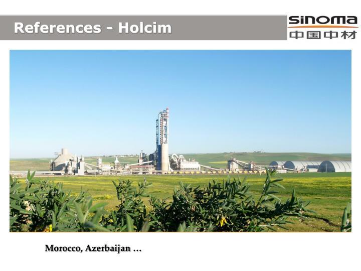 References - Holcim