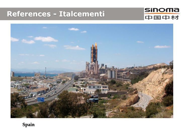 References - Italcementi