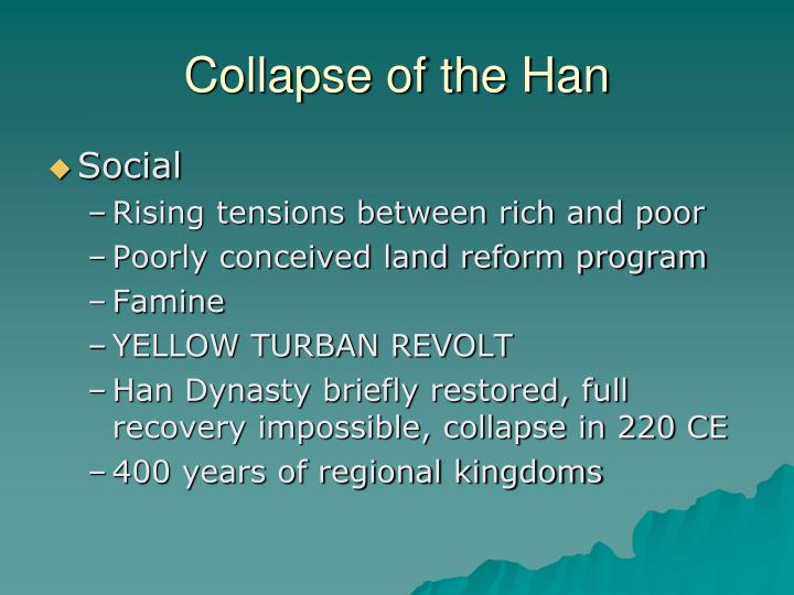 Collapse of the Han