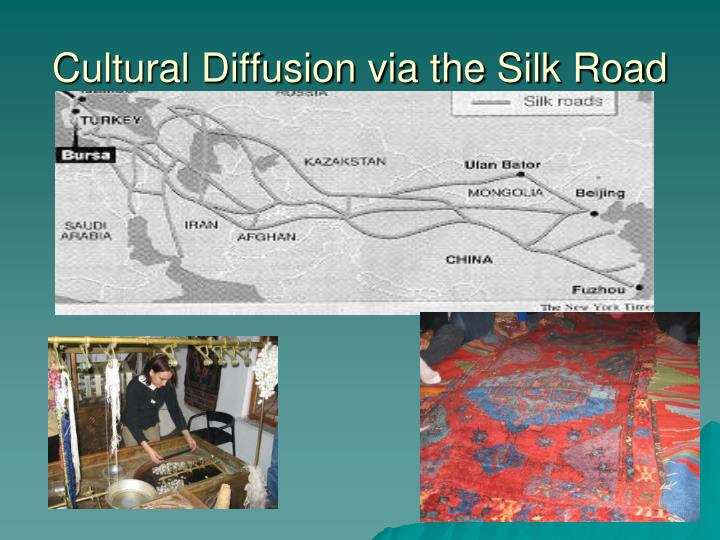 Cultural Diffusion via the Silk Road