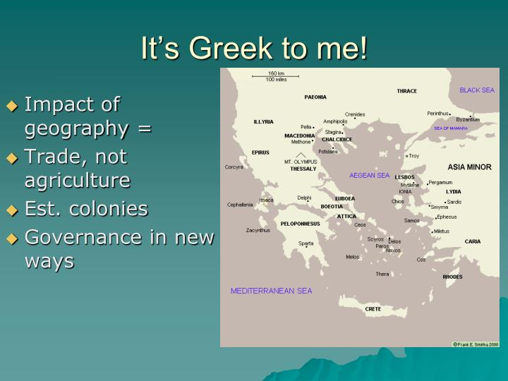 It's Greek to me!