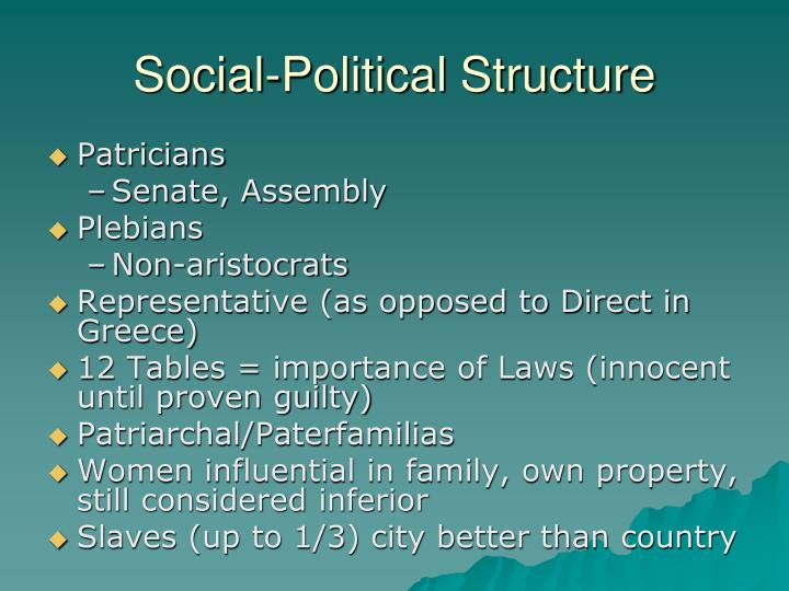 Social-Political Structure
