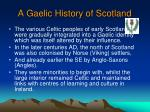 a gaelic history of scotland1