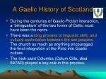 a gaelic history of scotland2