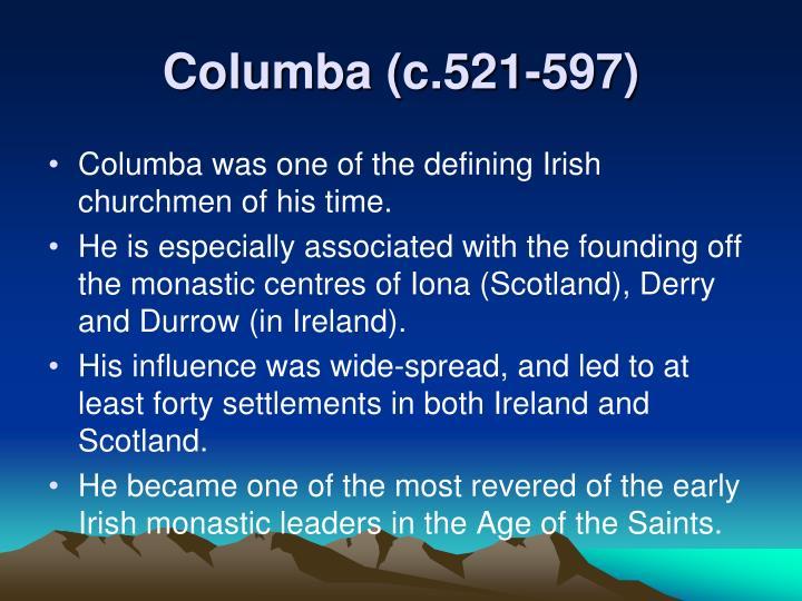 Columba (c.521-597)