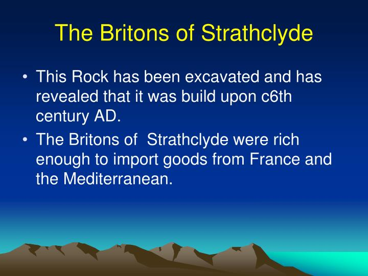 The Britons of Strathclyde