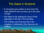 the gaels in scotland1