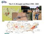u s drought 1998 2002