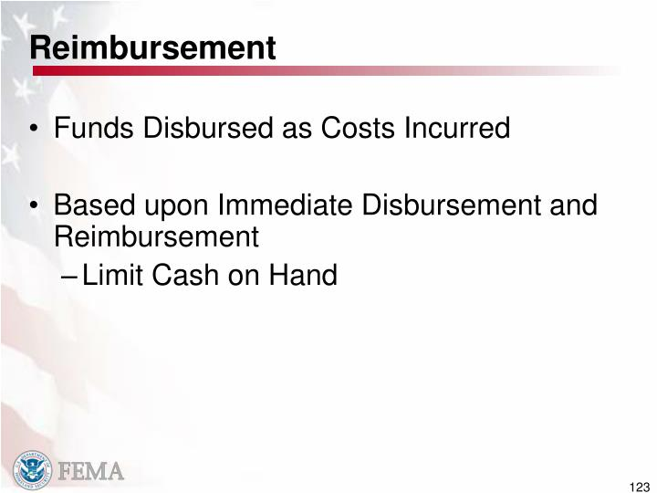 Reimbursement