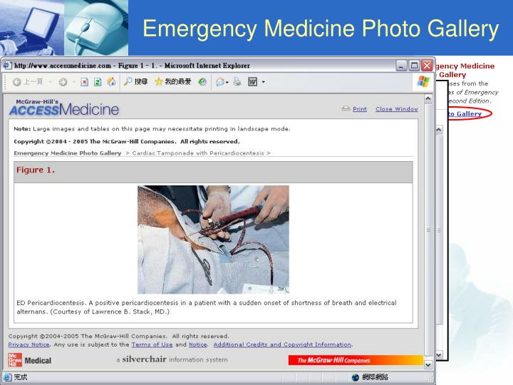 Emergency Medicine Photo Gallery
