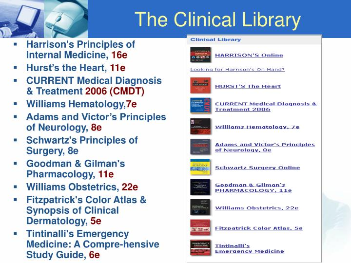 The Clinical Library