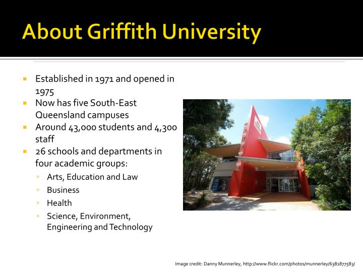 About Griffith University