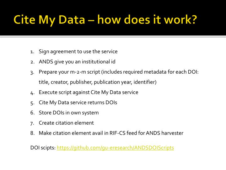 Cite My Data – how does it work?