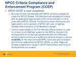 npcc criteria compliance and enforcement program ccep