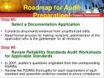 roadmap for audit preparation2