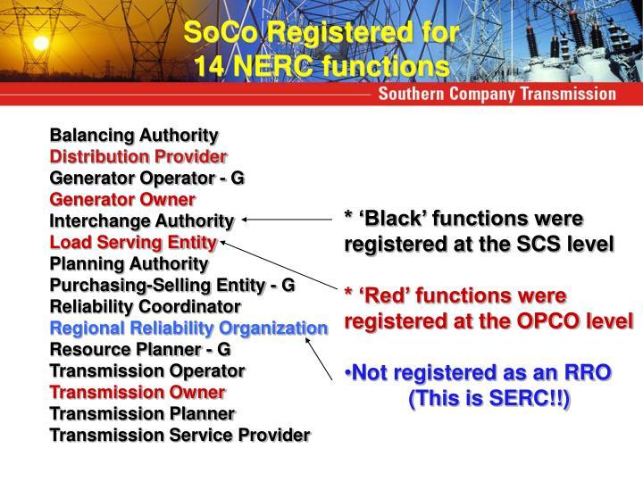 SoCo Registered for