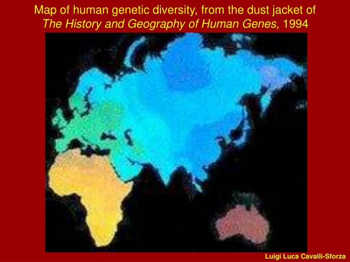Map of human genetic diversity,