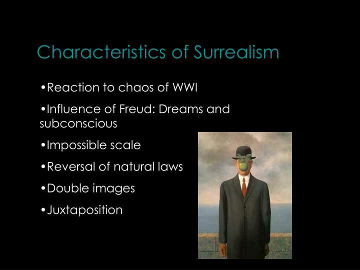 Characteristics of Surrealism