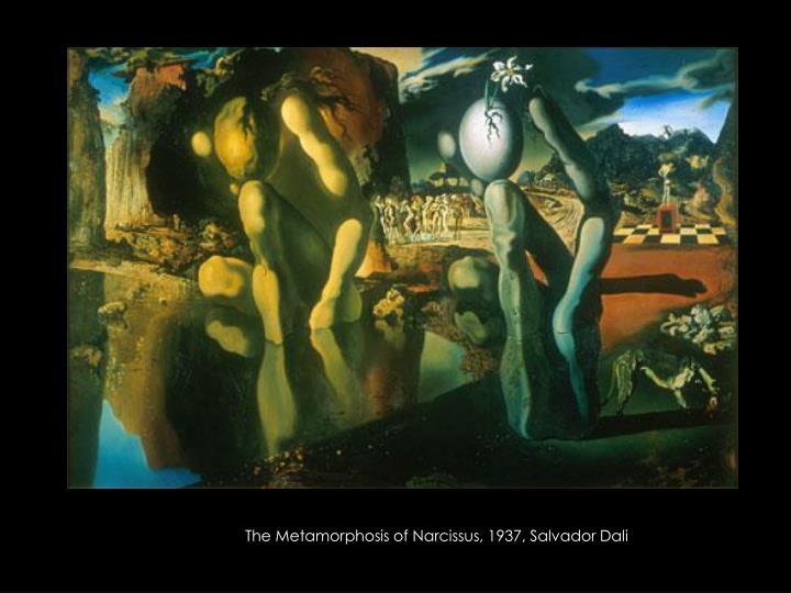 The Metamorphosis of Narcissus, 1937, Salvador Dali