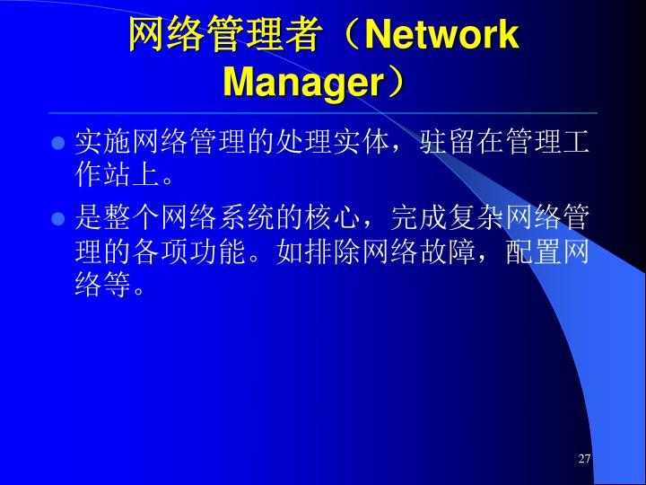 网络管理者(