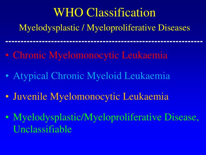 WHO Classification