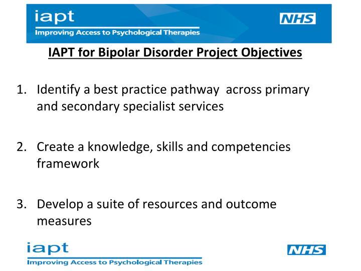 IAPT for Bipolar Disorder P
