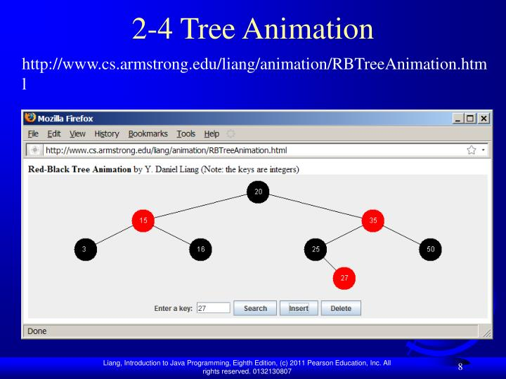 2-4 Tree Animation