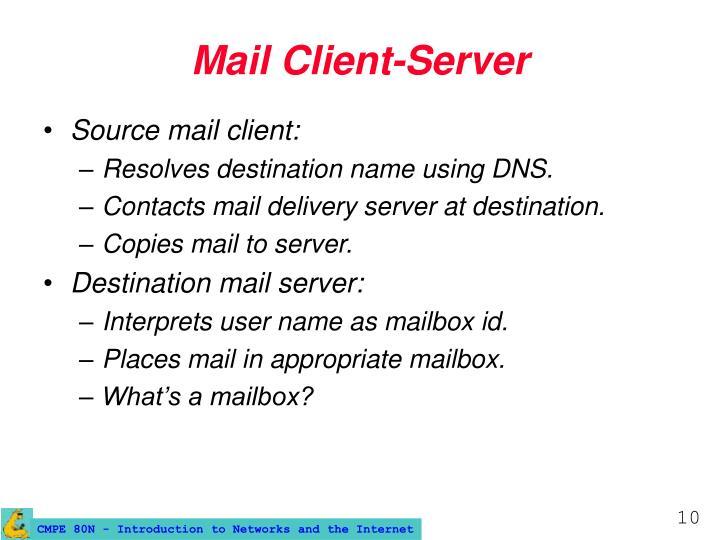 Mail Client-Server