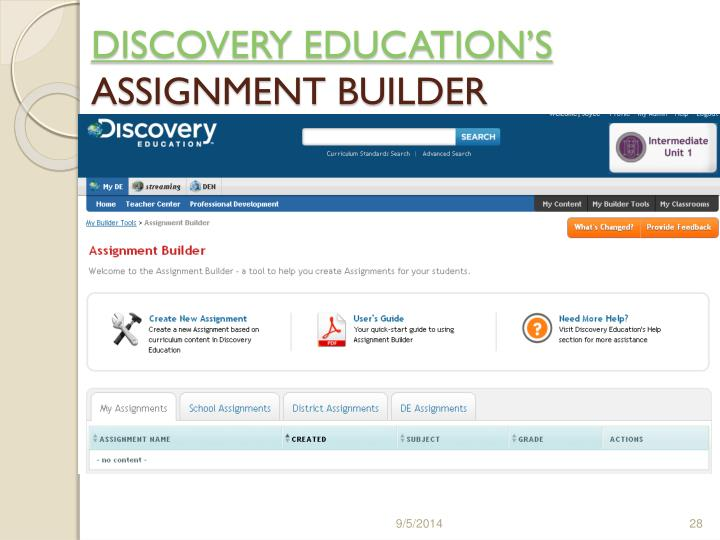 DISCOVERY EDUCATION'S