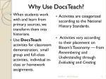 why use docsteach