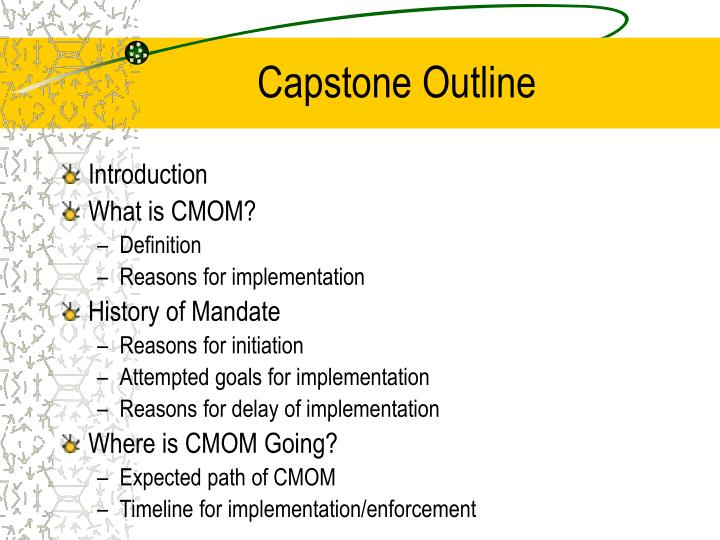 Capstone Outline