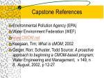capstone references