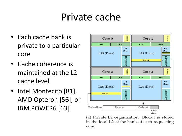 Private cache