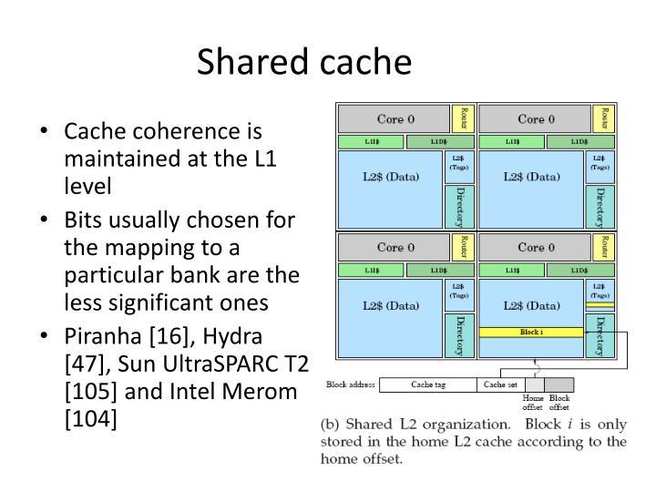 Shared cache